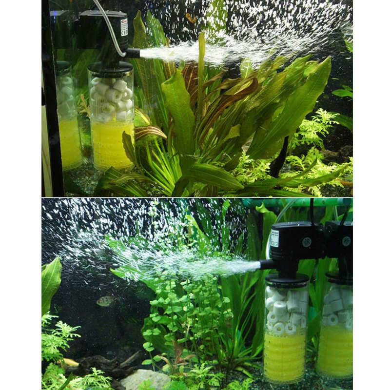 3 1 で水族館フィルター水槽フィルター空気ポンプ空気酸素増加水族館内部フィルター水族館ポンプ FA0013