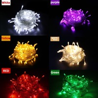 1pieces 100 LED 10m Led String Light For Holiday Party Wedding Led Christmas Lighting Free Shipping