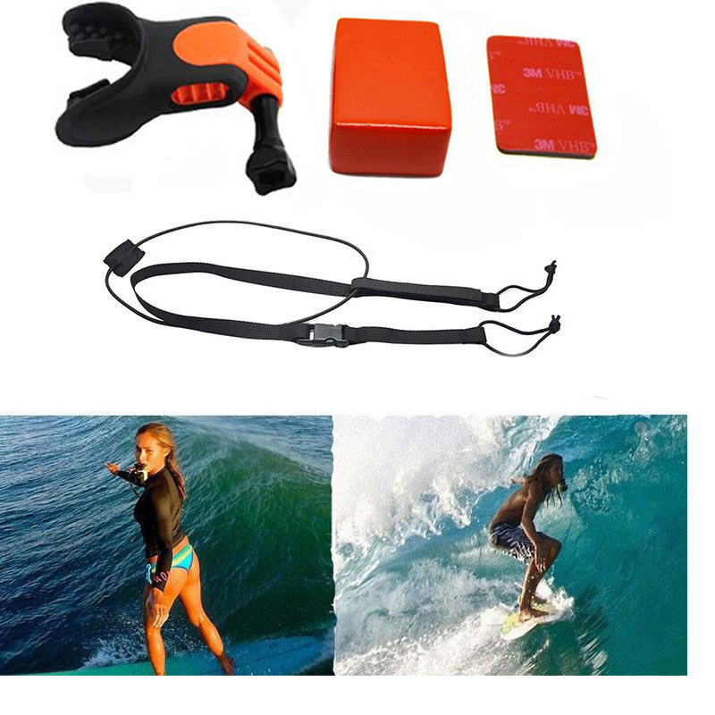 Analytisch Gehen Pro Zubehör Mund Mount Set Surf Snowboard Hosenträger Stecker Surfen Für Gopro Hero 5 4 3 2 Xiaomi Yi Sjcam Action Kamera Dauerhaft Im Einsatz