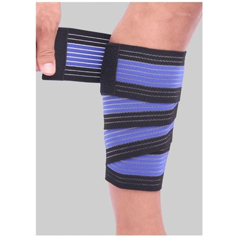 90cm esportes de fitness caneleiras protetor perna inferior bezerro haste proteção multi purpose bandage cinto banda joelheira para homens