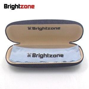 Image 5 - Brightzone moda tam jant Ultra hafif ağırlıklı esnek IP elektronik kaplama Metal titanyum jant gözlük erkek gözlük çerçevesi