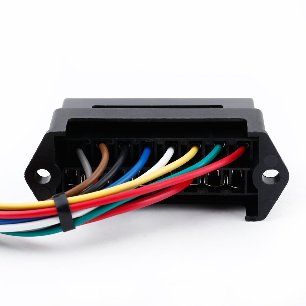 hight resolution of 8 way dc32v circuit car trailer auto blade fuse box block holder atc ato 2 input 8 ouput wire in fuses from automobiles motorcycles on aliexpress com