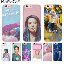 MaiYaCa couleurs Halsey paroles Badlands couverture de téléphone de haute qualité pour iphone 11 pro 8 7 66S Plus X 5S SE XR XS MAX(China)