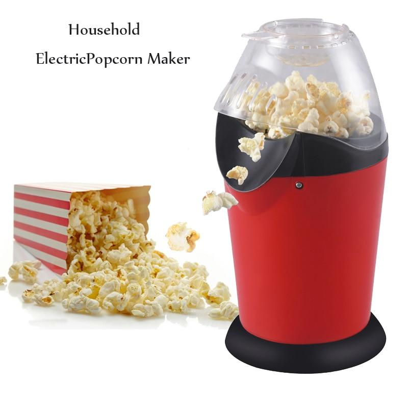 110v 220v Household Popcorn Makers Hot Air Corn Popper Suitable For DIY Electric Popcorn Popper Mini