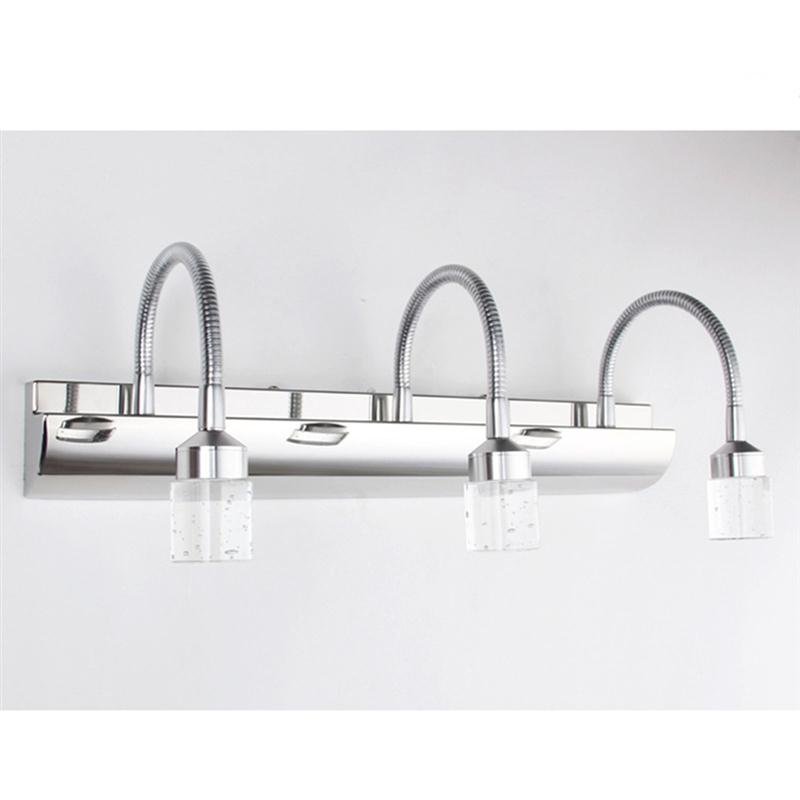 Bathroom Light Fixtures Led Bath Vanity Wall Sconces Light Home Decoration Modern Stainl ...