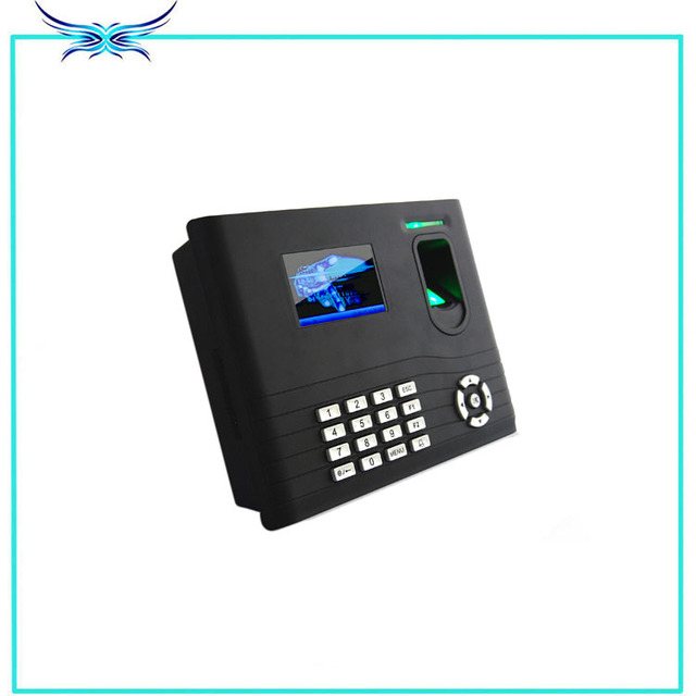 IN01 fingerprint time attendance and access control with back up battery smart MF card with WIFI standard TCP/IP