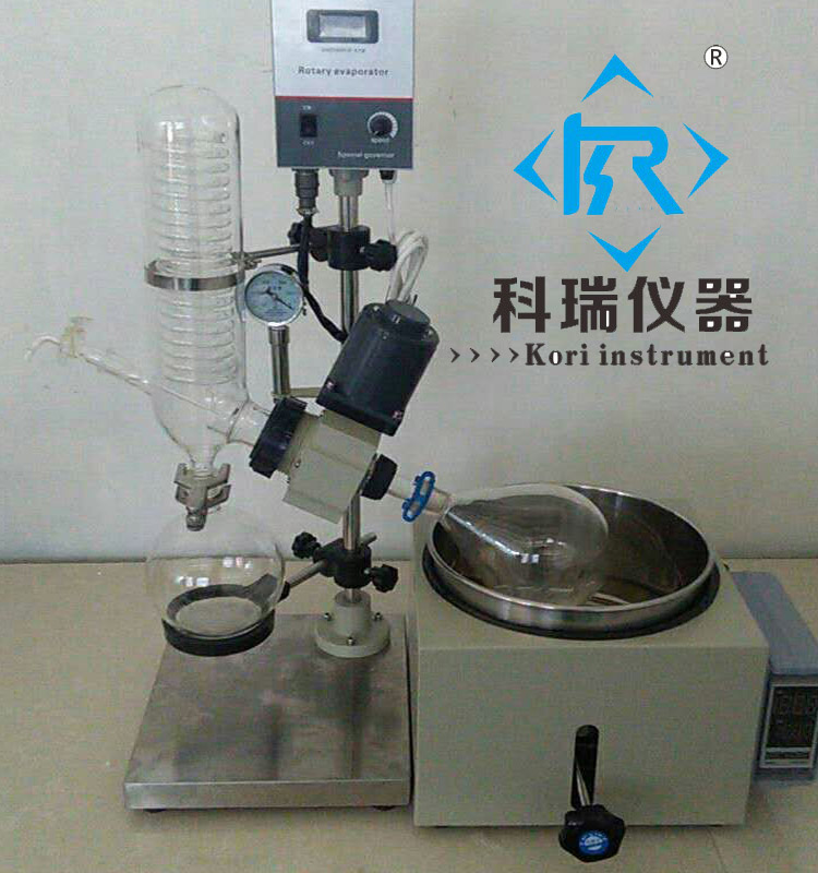 3L China Machine Supplier Small Mini Evaporator/digital Rotary Evaporator Display