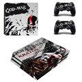 Виниловые наклейки для игровой консоли God of War PS4 Pro  2 контроллера PS4 Pro