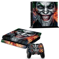 PS4 Skin Stickers For Sony PS4 Console Vinyl Decal Cover For PlayStation 4 And 2 Controller
