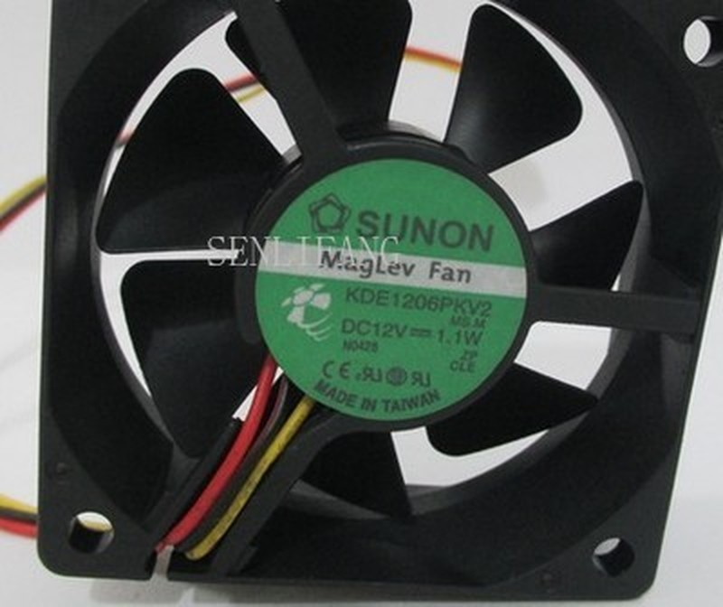 For Good Quality Sunon KDE 1206PKV2 12V 1.1W Cooling Fan