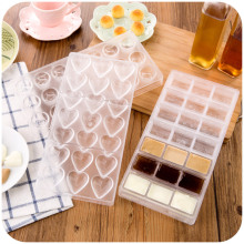 Love food grade ice mold, ice mold chocolate roses creative Mahjong pudding mold K4863