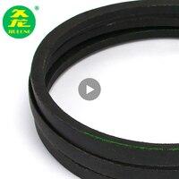 JIULONG B Type Black Rubber Drive V Belt B2840/2850/2900/2950/3000/3050/3080/3100/3150/ Inner Girth industrial Transmission Belt