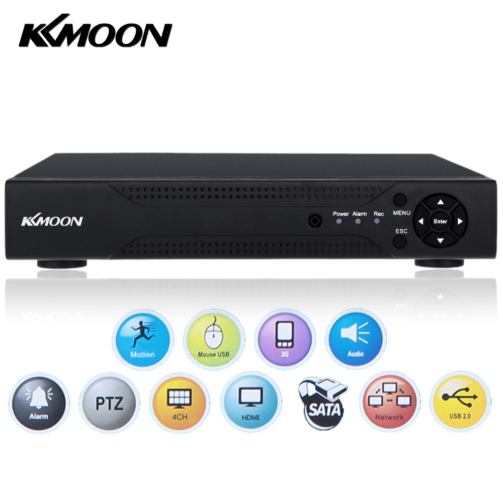 KKmoon 960H 4CH 720P CCTV AHD DVR Digital Video Recorder 4 Channel H.264 4CH DVR HVR NVR System P2P Home Security Video Recorder-in Surveillance Video Recorder from Security & Protection