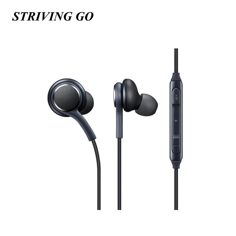 S8 3.5mm In-Ear Earphones Stereo Headset Handsfree Music Sport Earbuds With Mic For IPhone Xiaomi Samsung MP3 PK S6 Am115 S530