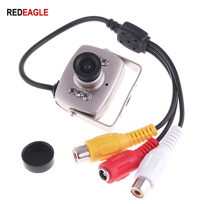 REDEAGLE Mini CCTV Video Camera 600TVL CMOS Color Security Camera 940nm Night Vision Infrared Cameras
