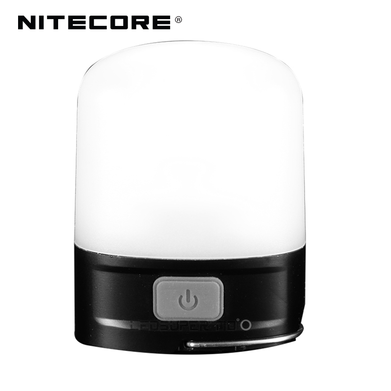 New Arrival Nitecore LR10 250 Lumens Micro-USB Rechargeable Pocket Camping Lantern Built-in 1200mAh Li-ion Battery
