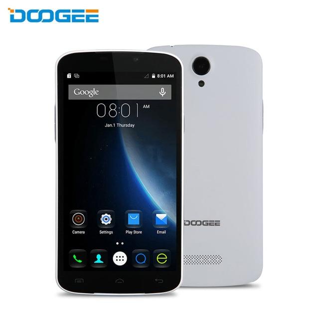 Оригинал DOOGEE X6 5.5 Дюймов 1280 x 720 MTK6580 Quad Core Android 6.0 Смартфон RAM 1Гб ROM 8Гб A-GPS WIFI 3G WCDMA