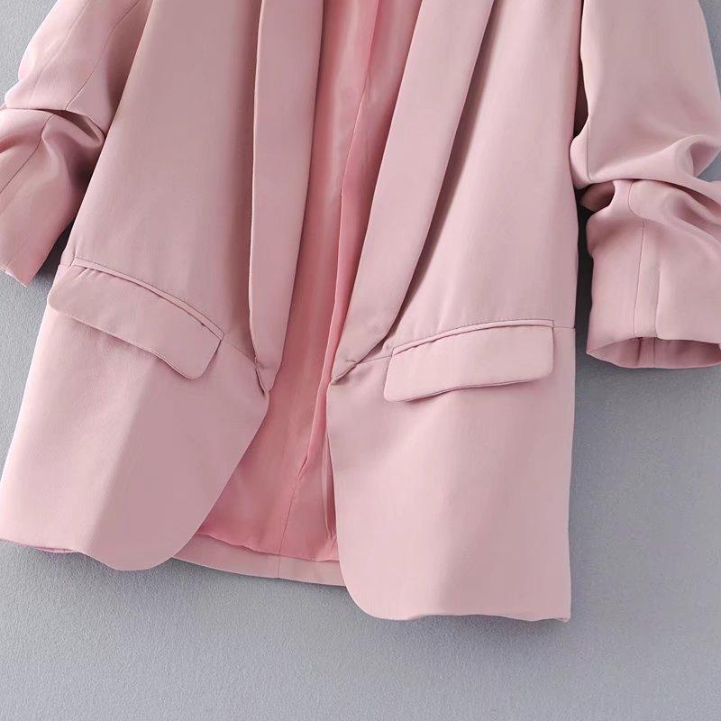 Jacket women elegant 5 color outerwear pocket office casual fashion jacket Jacket women elegant 5 color outerwear pocket office casual fashion jacket