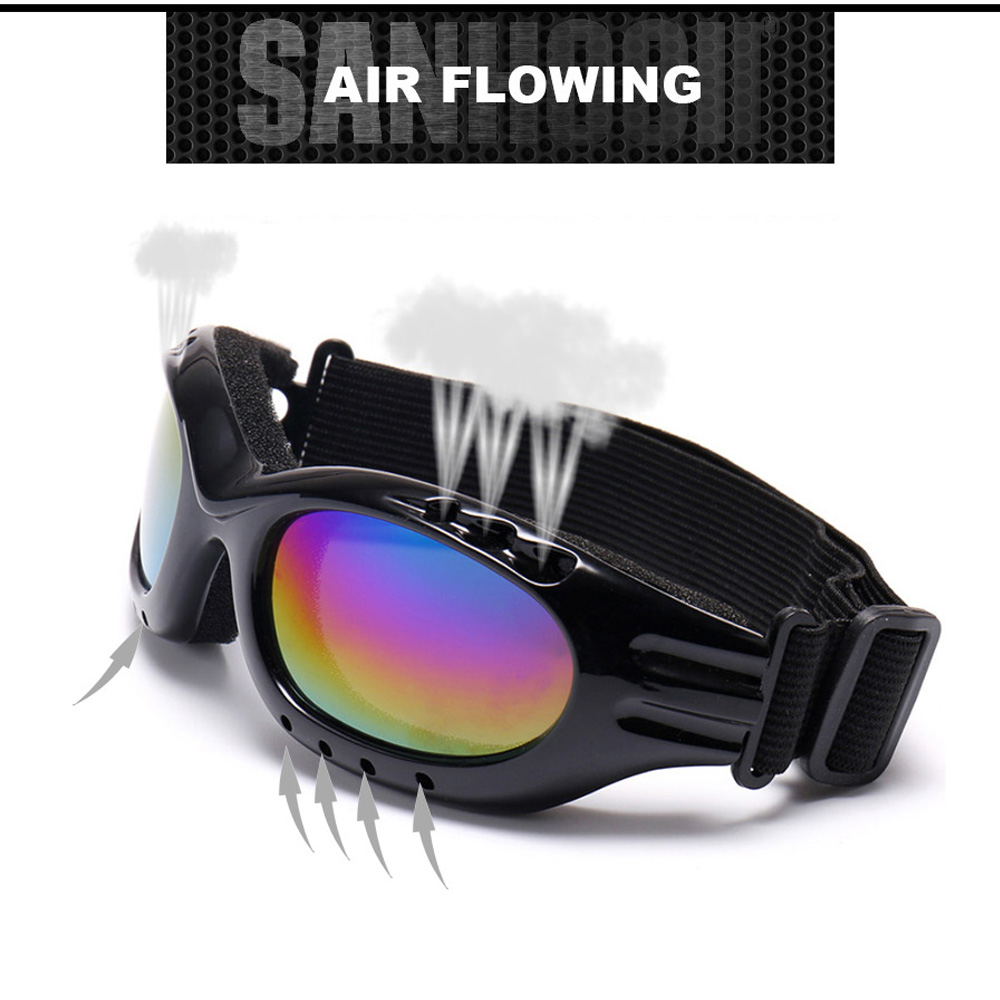 b0cbc70bc54c New Snowboard Dustproof Sunglasses Motorcycle Ski Goggles Lens Frame Glasses  Paintball Outdoor Sports Windproof Eyewear Glasses