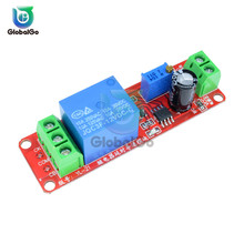цены на DC 12V Adjustable Time Delay Relay Switch Controller Trigger Timer Switch Delay Connect Module With LED Indicator Board NE555  в интернет-магазинах