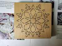 Scrapbook Cut Sky supporto di candela di legno die cut accessori in legno die Regola Acciaio Die Misura,, IL MIO