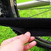 Pegatinas de bicicleta, pegatinas duraderas para bicicleta, protectores de cadena de cuidado para proteger el marco negro de la Caja, almohadillas de protección de bicicleta # y30