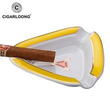CIGARLOONG Cigar ashtray ceramic ashtray large caliber flue ashtray gift box packaging CE-0013