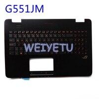 G551 G551J G551JK G551JM G551JW G551JX G551VW G551V laptop backlit keyboard Palmrest Upper cover C cover