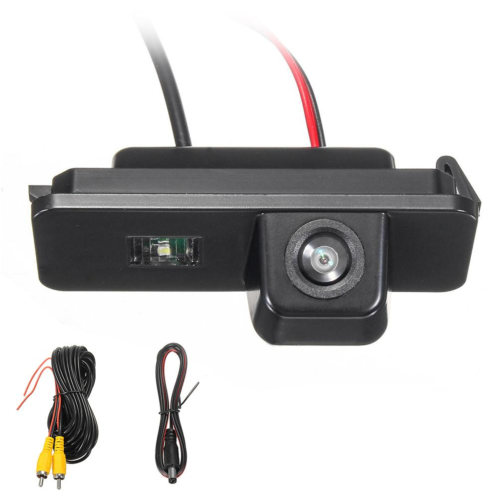 Rear View Reverse Camera for VW Golf MK4 MK5 MK6 Passat CC 4D Bora Leon Polo 2C Night Vision|Vehicle Camera| |  - title=