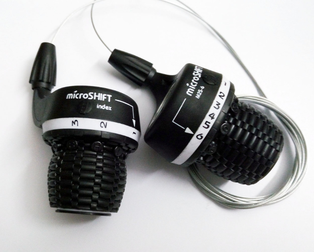 18//21 Speed Mountain Speed Shifter Derailleur Handle Twist Grip Gear Shift Grip