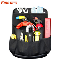 Large Capacity Car SUV Trunk Back Seat Organizer PU Leather Multi Pocket Travel Boot Storage Hanging Bag For Guns Tools Snack