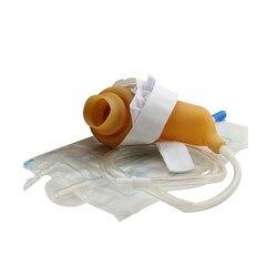 DR. ROOS 1 sztuka/pudło kolektor moczu silikonowa torba na mocz pisuar dla starszych mężczyzn nietrzymanie moczu zewnętrzne urządzenie moczowe