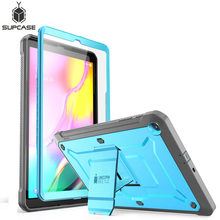 For Samsung Galaxy Tab A 10.1 Case (2019 Release) SUPCASE UB Pro Full-Body Rugged Heavy Duty Case with Built-in Screen Protector for samsung galaxy note 10 plus case 2019 supcase ub pro full body rugged holster cover without built in screen protector