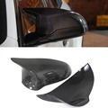 Rear View mirror cover For BMW F80 M3 F82 F83 M4 2014 2015 - on With Carbon Fiber Add On Style Only RHD