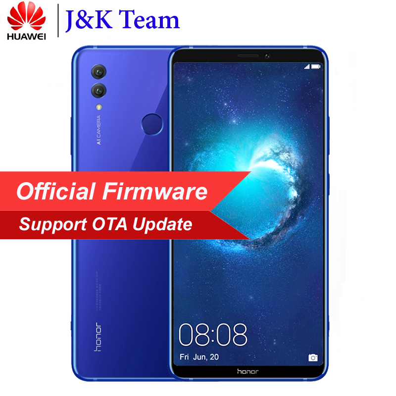 Huawei Honor Примечание 10 NFC Смартфон в наличии 6 ГБ 64 ГБ 5000 мАч Батарея 6,95 дюймов Экран Android 8,0 24MP Камера NFC мобильный телефон