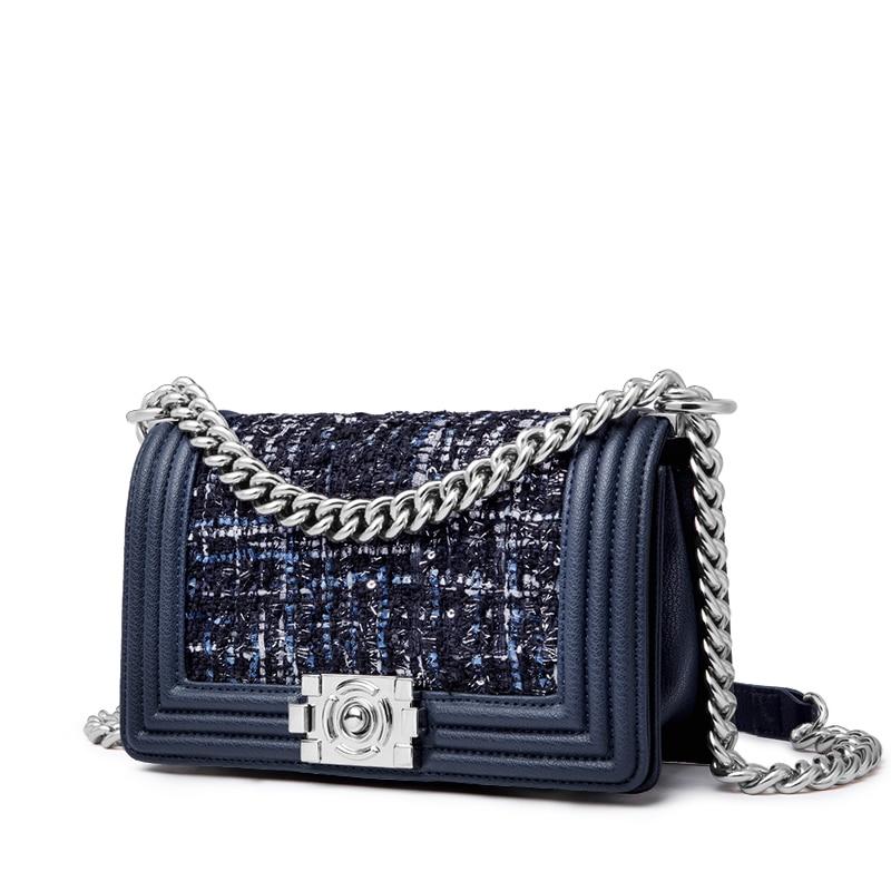 New women shoulder messenger Bag 2019 ladies handbag cross body genuine leather bag ZOOLER luxury designer purses 2019 hot E123 in Shoulder Bags from Luggage Bags