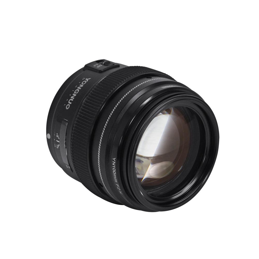 YONGNUO YN100mm F2 AF MF Téléobjectif à Grande Ouverture Auto Lentille de Focalisation Pour Nikon D3300 DSLR Caméra