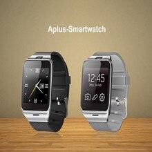 2016 neue gv18 smartwatch für iphone und android-handy 1 stücke schwarz weiß bluetooth uhr mit kamera