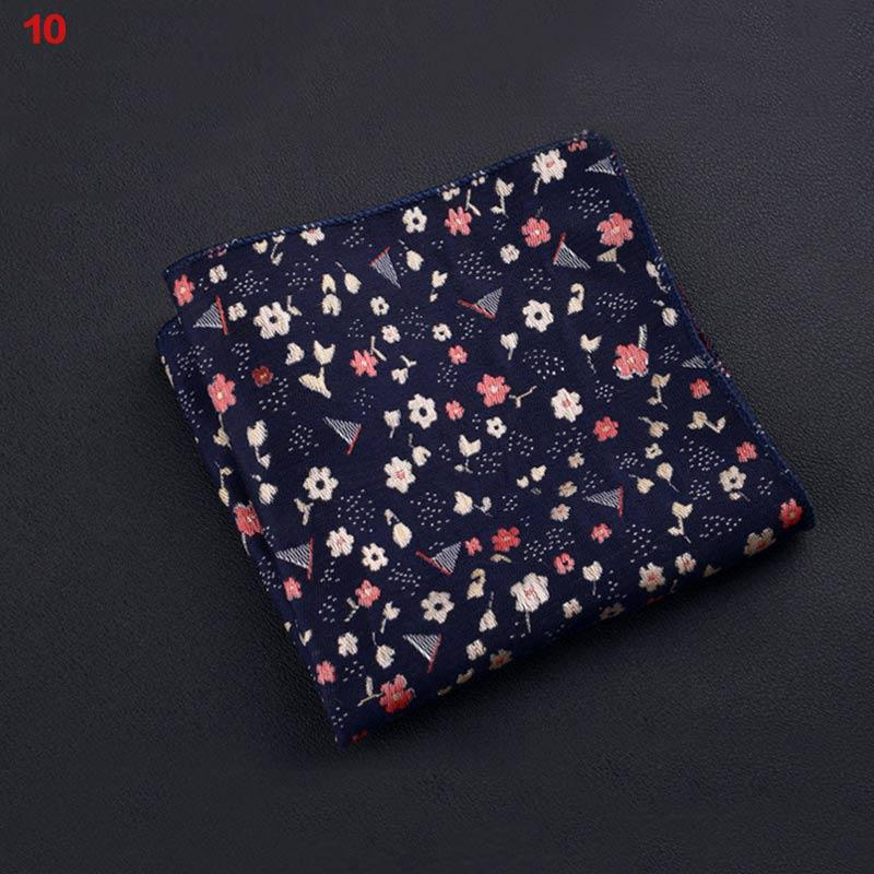 Polyester Square Towel Trendy Wedding Banquet Handkerchief Gentleman Suit Pocket Hanky SSA-19ING