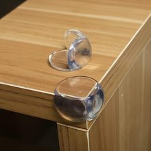 2pcs Baby Safety Protection Sleeve Angle Transparent Anti Collision Pool Home Kitchen Dining Room Tables And Chairs To Protect(China)