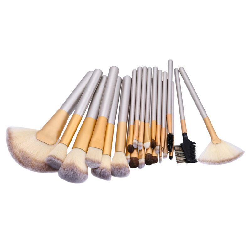 Makeup Brushes Set Pincel Maquiagem Powder Eye Kabuki Brush Complete Kit Cosmetics Beauty Make up Brush Tools with Leather Case 26 pcs professional makeup brushes beauty woman s kabuki cosmetics makeup brush set tools foundation brush pincel de maquiagem
