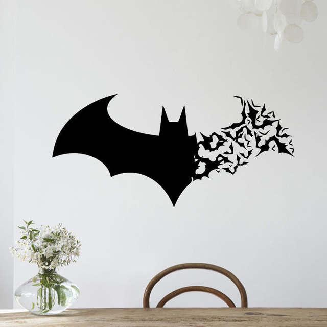 Animal Bat Sticker Decal Removable