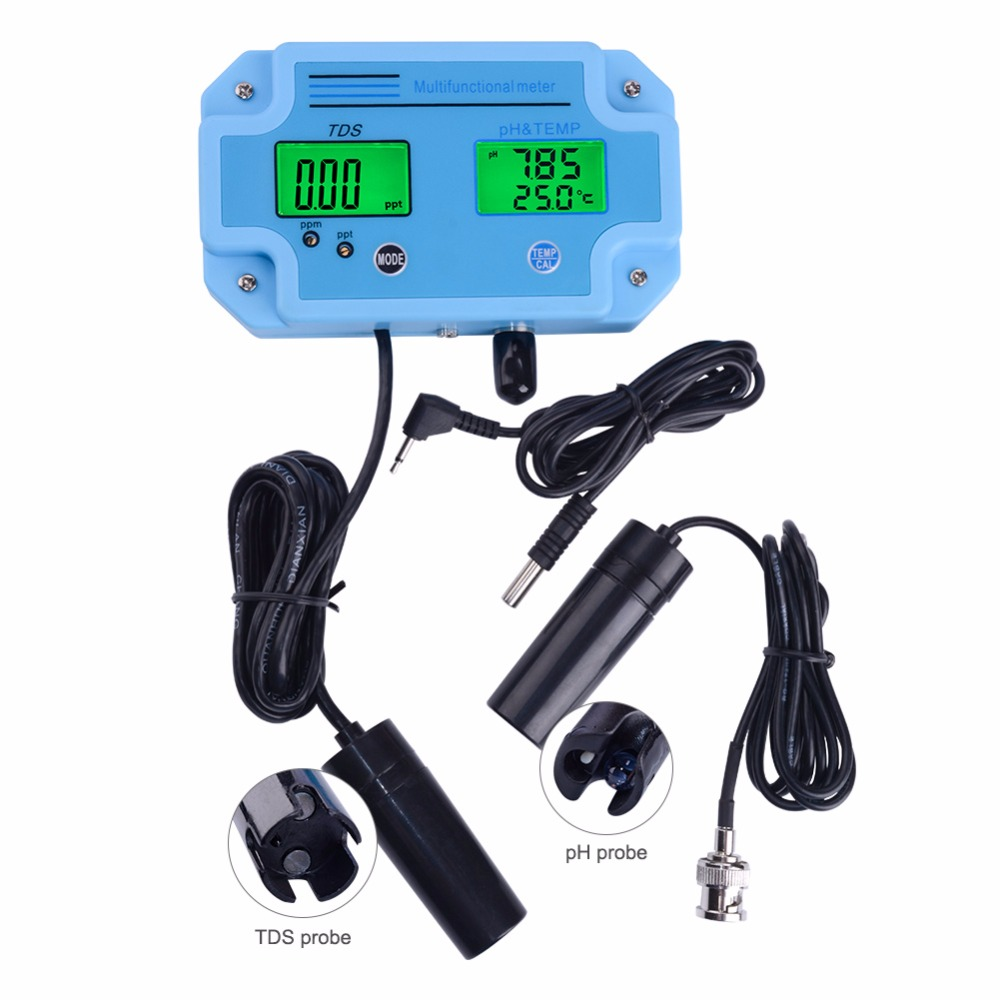 Yieryi PH 2983 Digital High Precision Water Quality Tester PH and TDS 2 in 1 Meter
