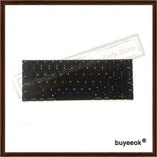 Original 95% New A1534 US Keyboard for MacBook 12″ Retina A1534 US English Keyboard MF855 MF865 EMC2746 2016