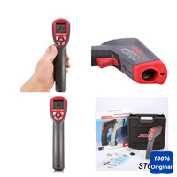 Far Distance Temperature Monitor Gun Type Thermometer IR Infrared Thermometer ( 32 1300C) ST675