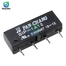5pcs/Lot 5V 12V Reed Relay Switch Module SIP-1A05 SIP-1A12 4PIN Reed R