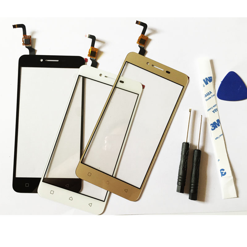 Black/White/Gold Touchscreen For Lenovo Vibe K5 Plus A6020 A6020a46 A6020a40 Touch Panel Digitizer With Glue + tools
