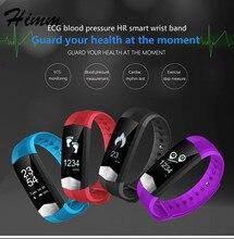 CD01 Графен ЭКГ heartrate Приборы для измерения артериального давления смарт-браслет для iPhone Android Шагомер сна трекер вызова SMS напоминание
