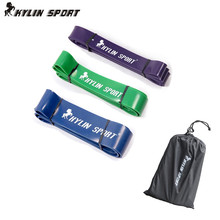 Set of 3 Hot Low Price  Natural latex 41 Strength Resistance Bands Loop Fitness Crossfit Power Lifting Pull Up Band цена