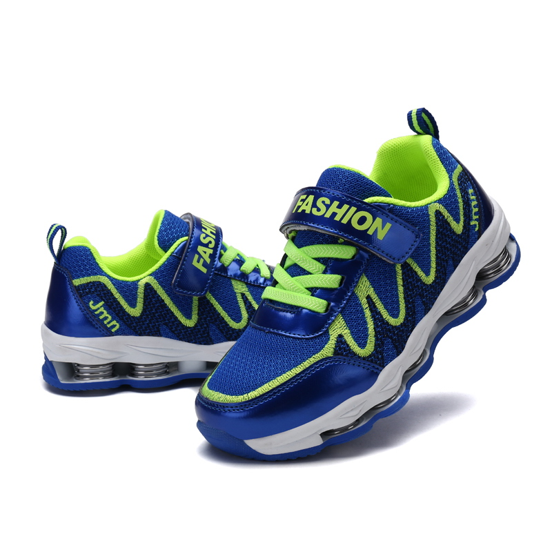 Trainers 2017 New Kids Sneakers Boys Outdoor Breathable Sports <font><b>Shoes</b></font> Shockproof Athletic Children Comfortable Jogging Shoes31-40